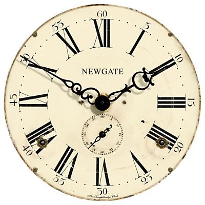 Newgate Knightsbridge Wall Clock, Dia.50cm, Cream