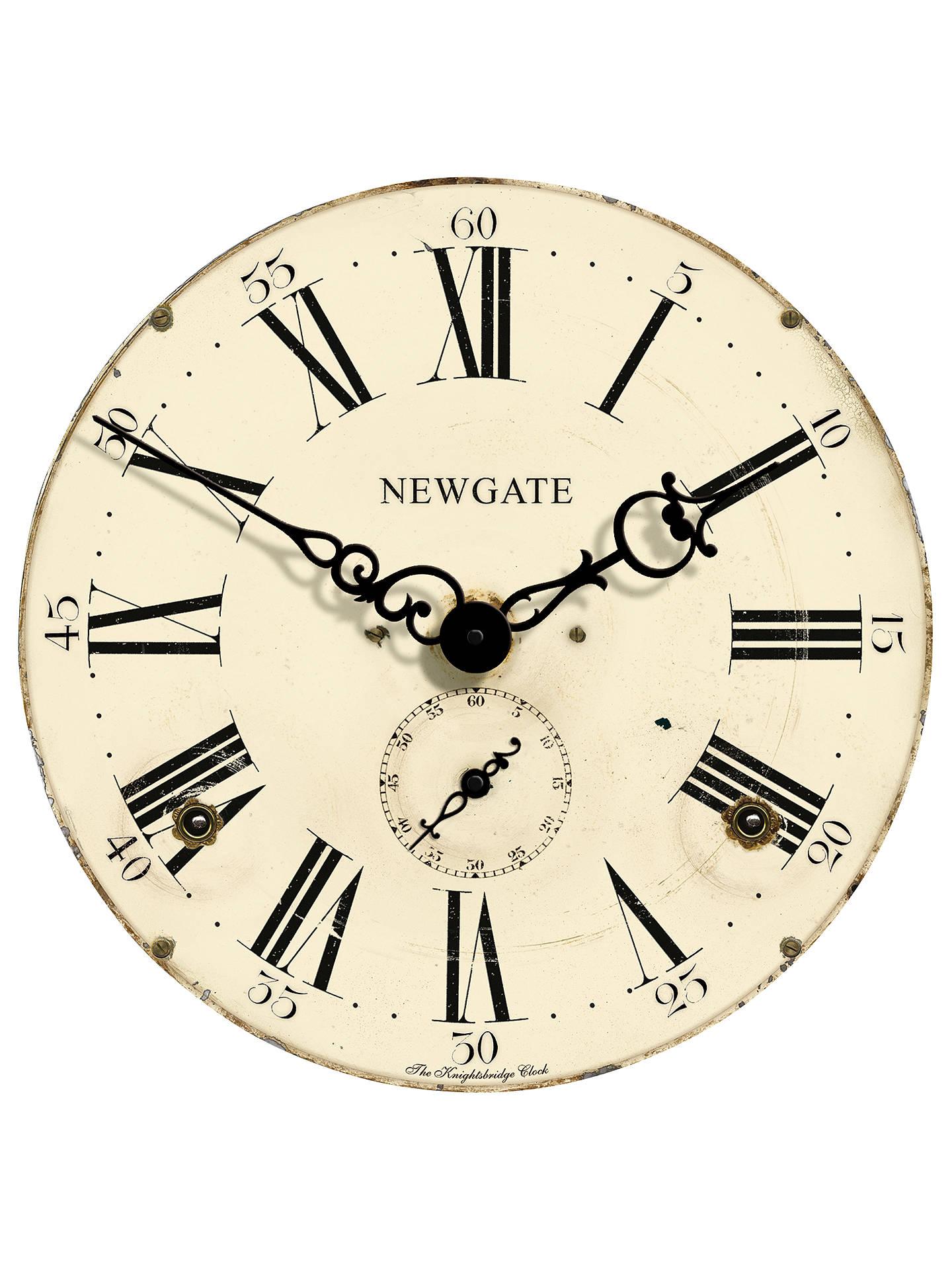 Newgate Knightsbridge Wall Clock Dia50cm Cream At John Lewis