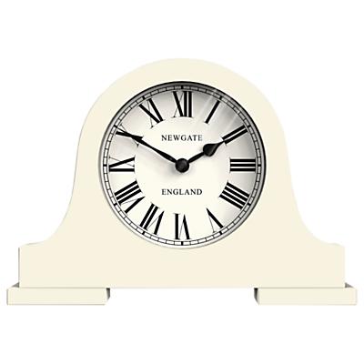 Newgate Mantel Clock, Cream