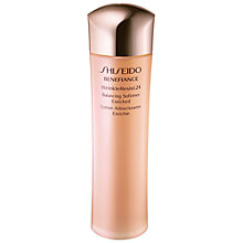 Buy Shiseido Benefiance WrinkleResist24 Balancing Softener Enriched, 150ml Online at johnlewis.com