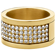 Buy Dyrberg/Kern Emily Crystal Band Ring Online at johnlewis.com