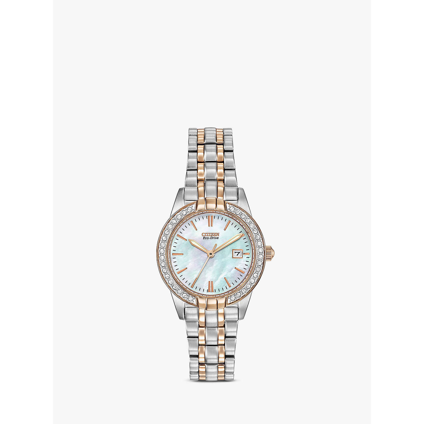 ladies product crystals caravelle crystal watches watch bracelet johnrobertjewelers charm com