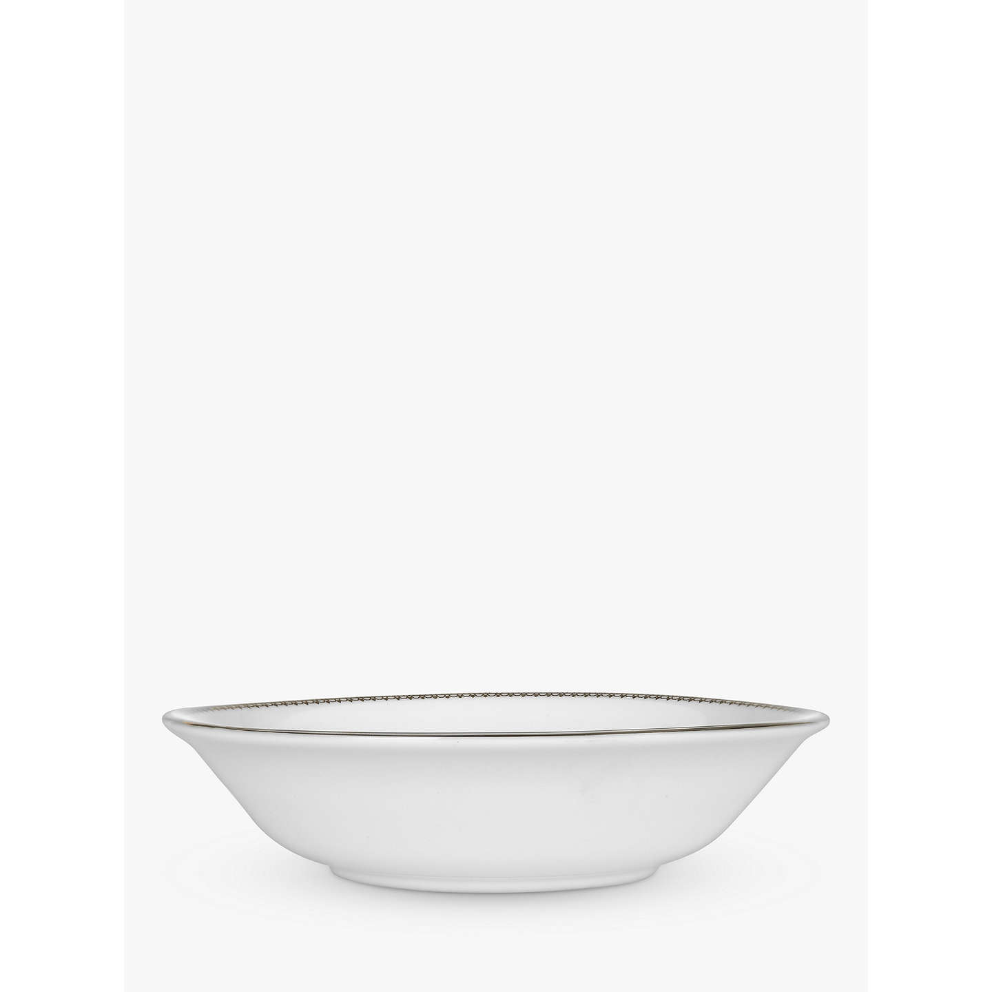 BuyVera Wang for Wedgwood Lace 15cm Cereal Bowl Online at johnlewis.com