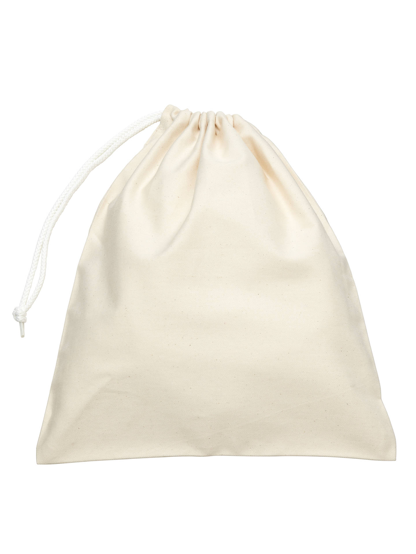"Buy School Shoe Bag, Cream, 16"" x 14"" Online at johnlewis.com"