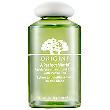 Buy Origins A Perfect World Age Defense Treatment Lotion with White Tea, 150ml Online at johnlewis.com