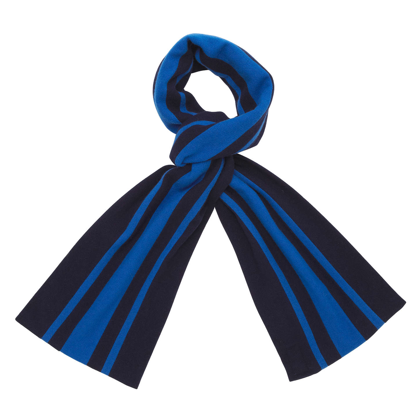 BuyChislehurst School for Girls Scarf, Navy, One Size Online at johnlewis.com