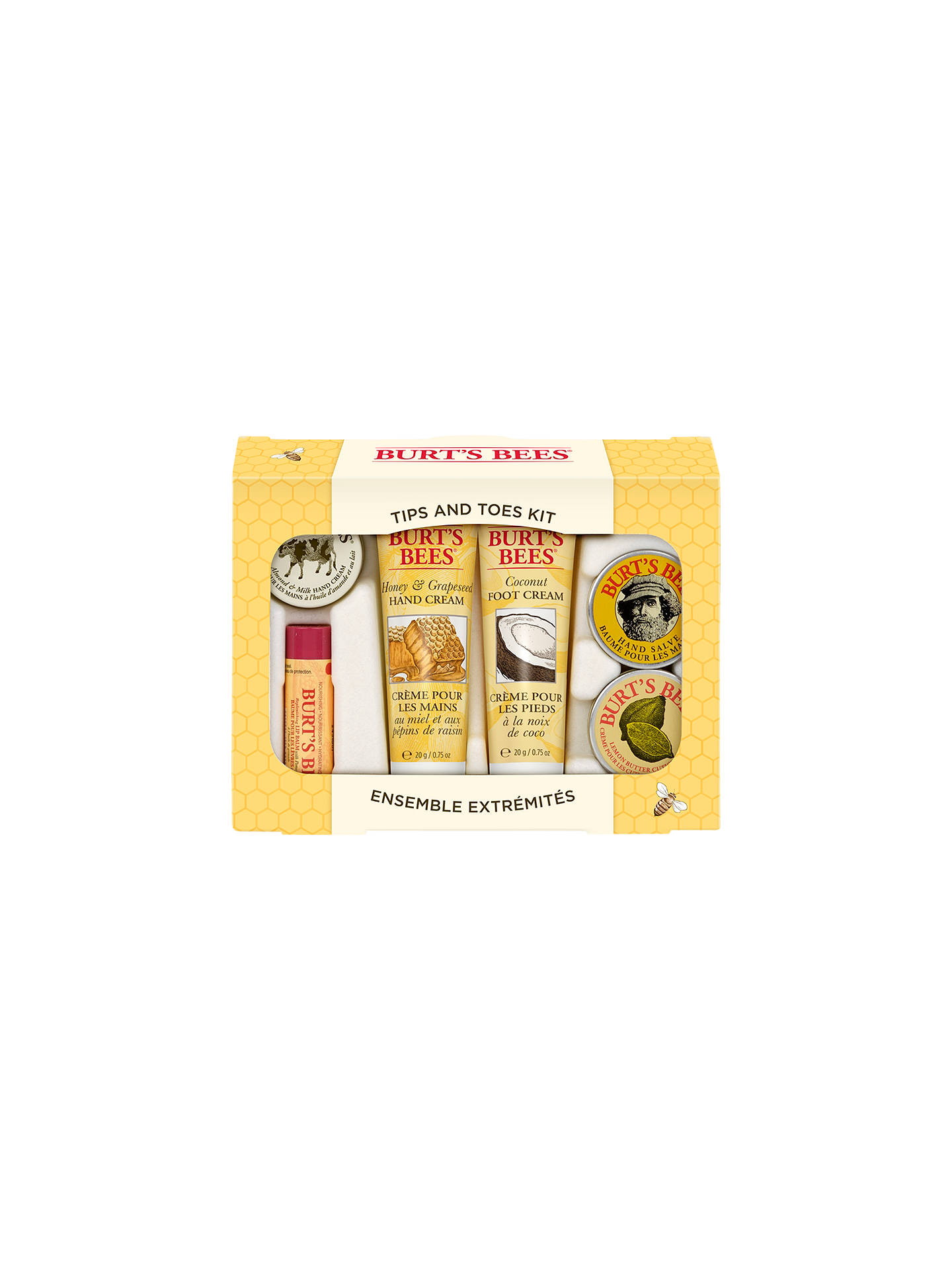 BuyBurt's Bees Tips And Toes Skincare Starter Kit Online at johnlewis.com