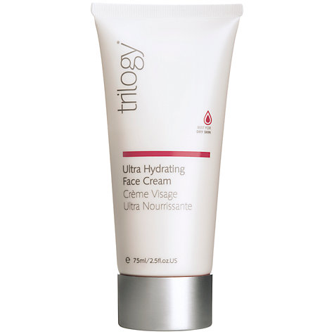 Buy Trilogy Ultra Hydrating Face Cream, 75ml Online at johnlewis.com