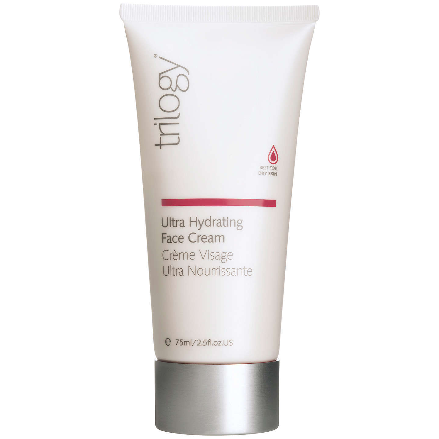BuyTrilogy Ultra Hydrating Face Cream, 75ml Online at johnlewis.com