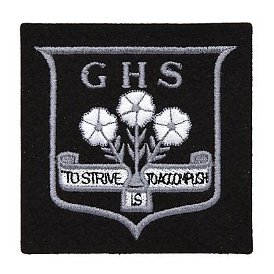 Grittleton House School Senior Blazer Badge, Black/Multi