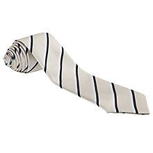 Buy Grittleton House School Boys' Tie, Cream Multi Online at johnlewis.com