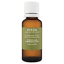 Buy AVEDA Singular Notes Vanilla Oil, 30ml Online at johnlewis.com
