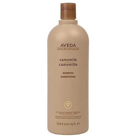 Buy AVEDA Color Enhance Camomile Shampoo, 1000ml Online at johnlewis.com