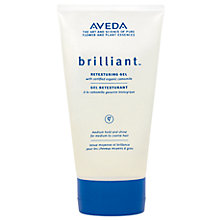 Buy AVEDA Brilliant™ Retexturing Gel Online at johnlewis.com
