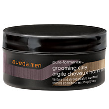 Buy AVEDA Men Pure-Formance Grooming Clay, 75ml Online at johnlewis.com