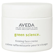 Buy AVEDA Green Science™ Firming Face Crème, 50ml Online at johnlewis.com