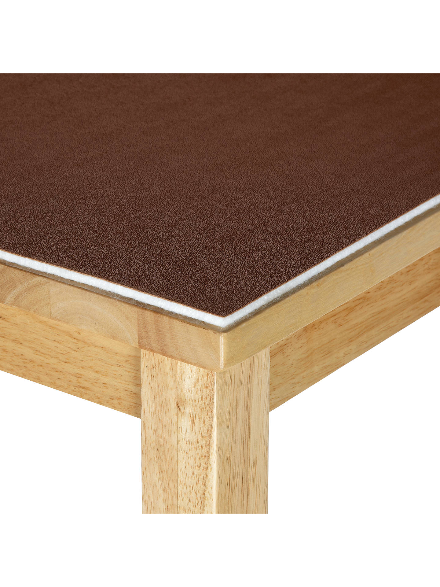 BuyJohn Lewis & Partners Table Protector Fabric, Nutmeg, W152cm, L8m Online at johnlewis.com