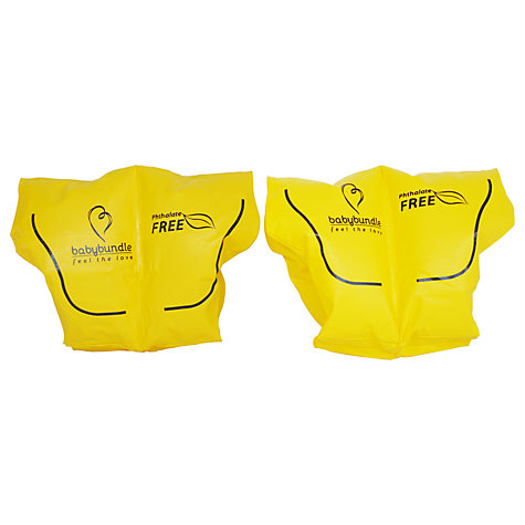 Buy Baby Bundle Armbands, Set of 2, Yellow Online at johnlewis.com