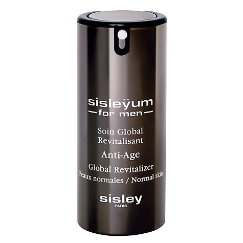 Buy Sisley Sisleÿum For Men Anti-Age Global Revitalizer for Normal Skin, 50ml Online at johnlewis.com