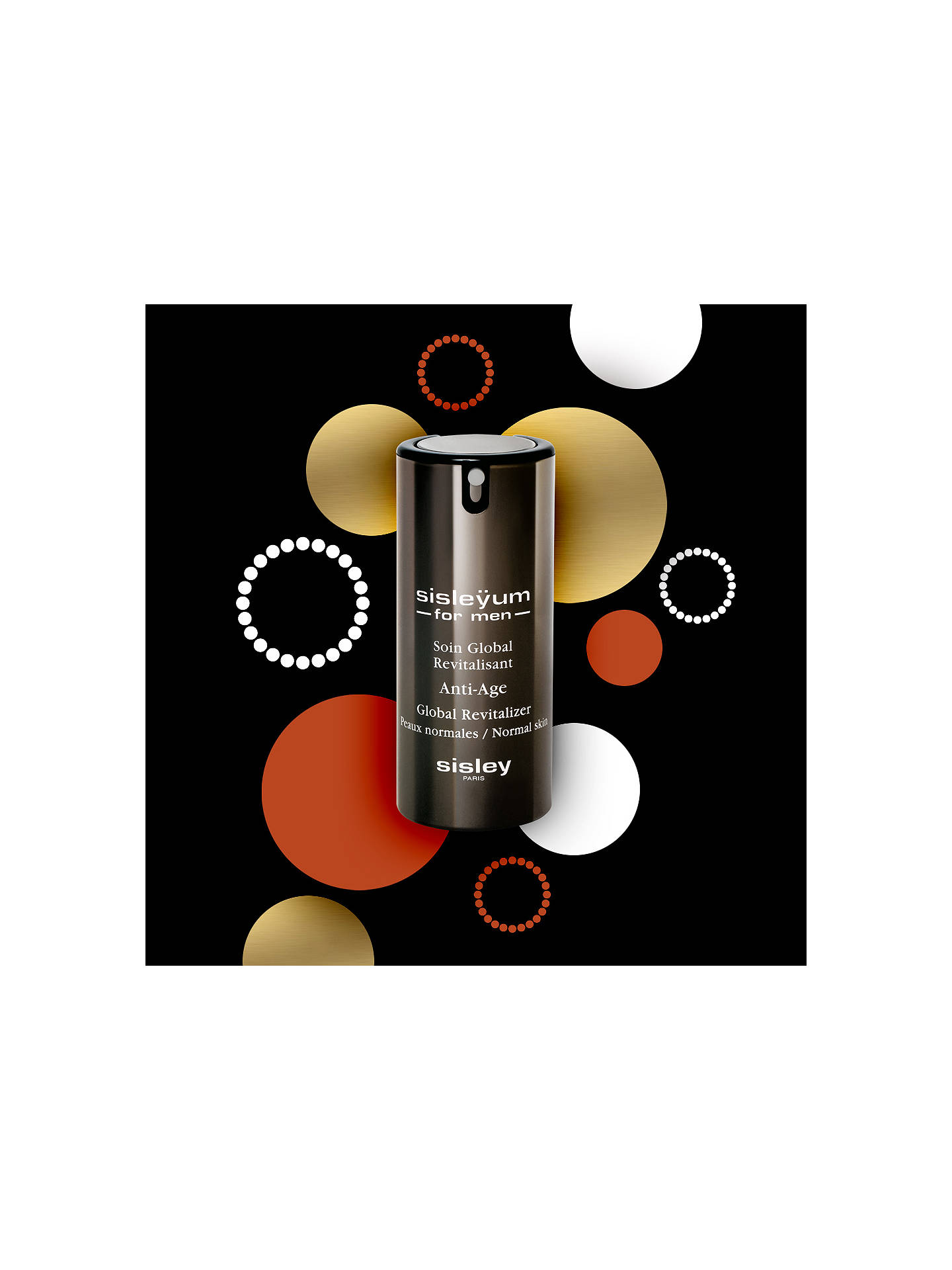 BuySisley Sisleÿum For Men Anti-Age Global Revitalizer for Normal Skin, 50ml Online at johnlewis.com