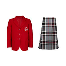 Thornton College Girls' Years 5-11 Winter Uniform