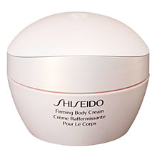 Buy Shiseido Firming Body Cream, 200ml Online at johnlewis.com