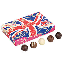 Buy Prestat Truffles in a Union Jack Box, 200g Online at johnlewis.com