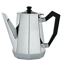 Buy Alessi Ottagonale Coffee Pot Online at johnlewis.com