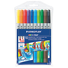 Buy Staedtler Felt Tip Pens, Multi, Pack of 12 Online at johnlewis.com