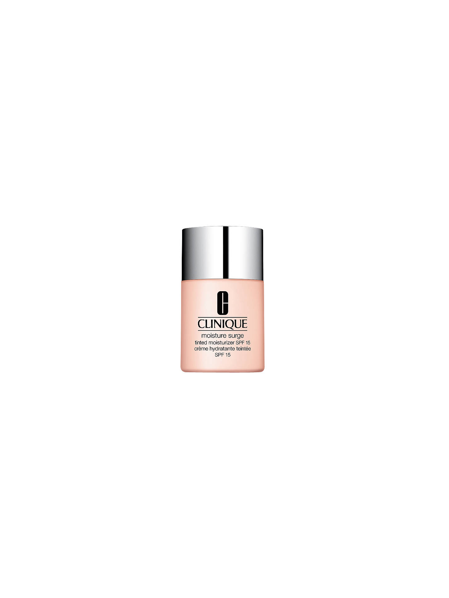 BuyClinique Moisture Surge Tinted Moisturizer SPF15, 30ml, Shade 1 Online at johnlewis.com