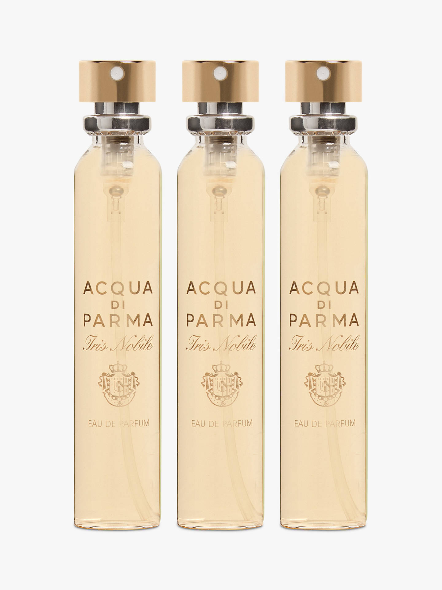 Buy Acqua di Parma Iris Nobile Leather Purse Spray Refills, 3 x 20ml Online at johnlewis.com