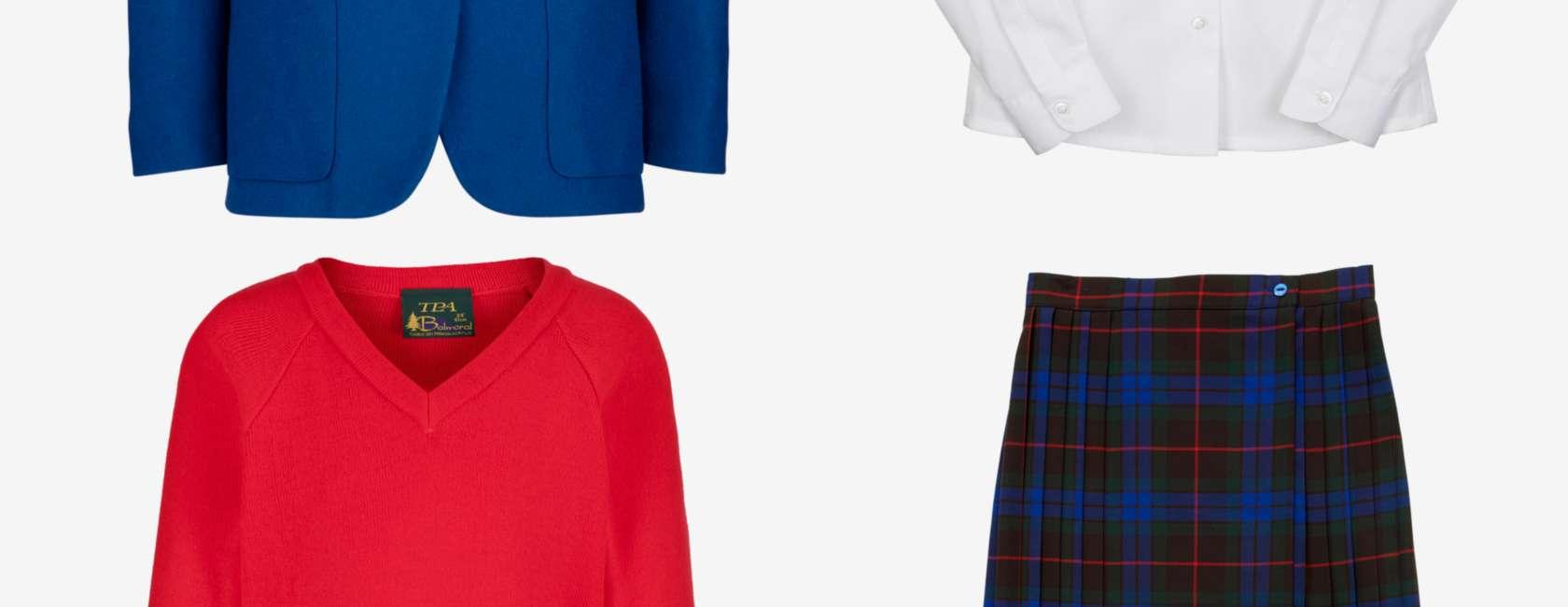Plus Size Catholic School Girl Skirts Saddha