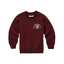 Buy George Fentham Endowed School Unisex Sweatshirt, Maroon Online at johnlewis.com