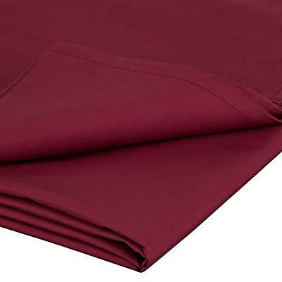 John Lewis 200 Thread Count Egyptian Cotton Flat Sheet