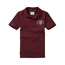 Buy George Fentham Endowed School Unisex Polo Shirt, Maroon Online at johnlewis.com
