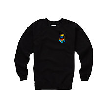 Buy Lourdes Secondary School Years 1 - 4 Sweatshirt, Black Online at johnlewis.com