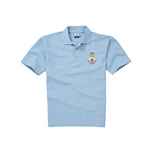 Buy Lourdes Secondary School Unisex Polo Shirt, Sky Blue Online at johnlewis.com