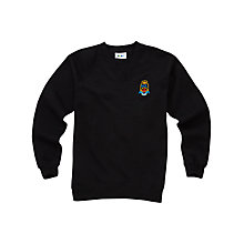 Buy Lourdes Secondary School Years 5 - 6 Sweatshirt, Black Online at johnlewis.com