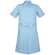 Buy North London Collegiate School Girls' Junior Summer Dress, Blue Stripe Online at johnlewis.com