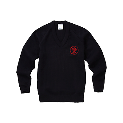 Image of Queen Elizabeth's Girls' School Pullover, Navy