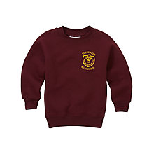 Buy St Edwards RC Primary School Unisex Sweatshirt, Maroon Online at johnlewis.com