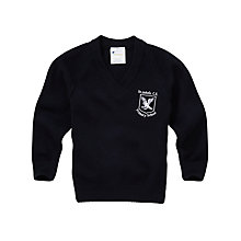 Buy St John's C of E Primary School Years 1 - 6 Boys' Pullover, Navy Online at johnlewis.com
