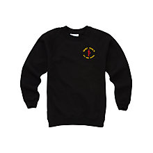Buy St Paul's RC High School Unisex 1st - 4th Year Sweatshirt, Black Online at johnlewis.com