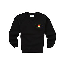 Buy St Paul's RC High School Unisex 5th & 6th Year Sweatshirt, Black Online at johnlewis.com