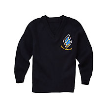 Buy St Bernard's Preparatory School Boys' Pullover, Navy Online at johnlewis.com