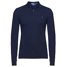 Buy Polo Ralph Lauren Custom Fit Long Sleeve Polo Shirt Online at johnlewis.com