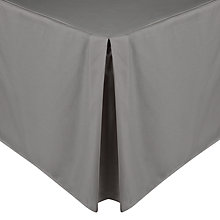 Buy John Lewis Perfectly Smooth 200 Thread Count Egyptian Cotton Centre Pleat Valance Online at johnlewis.com