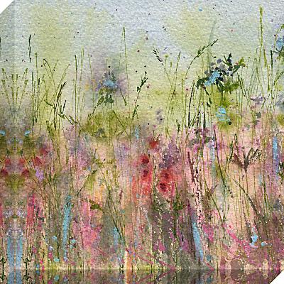 Sue Fenlon – Summer Hedgerow Print on Canvas, 90 x 90cm