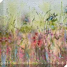 Buy Sue Fenlon - Summer Hedgerow Print on Canvas, 90 x 90cm Online at johnlewis.com