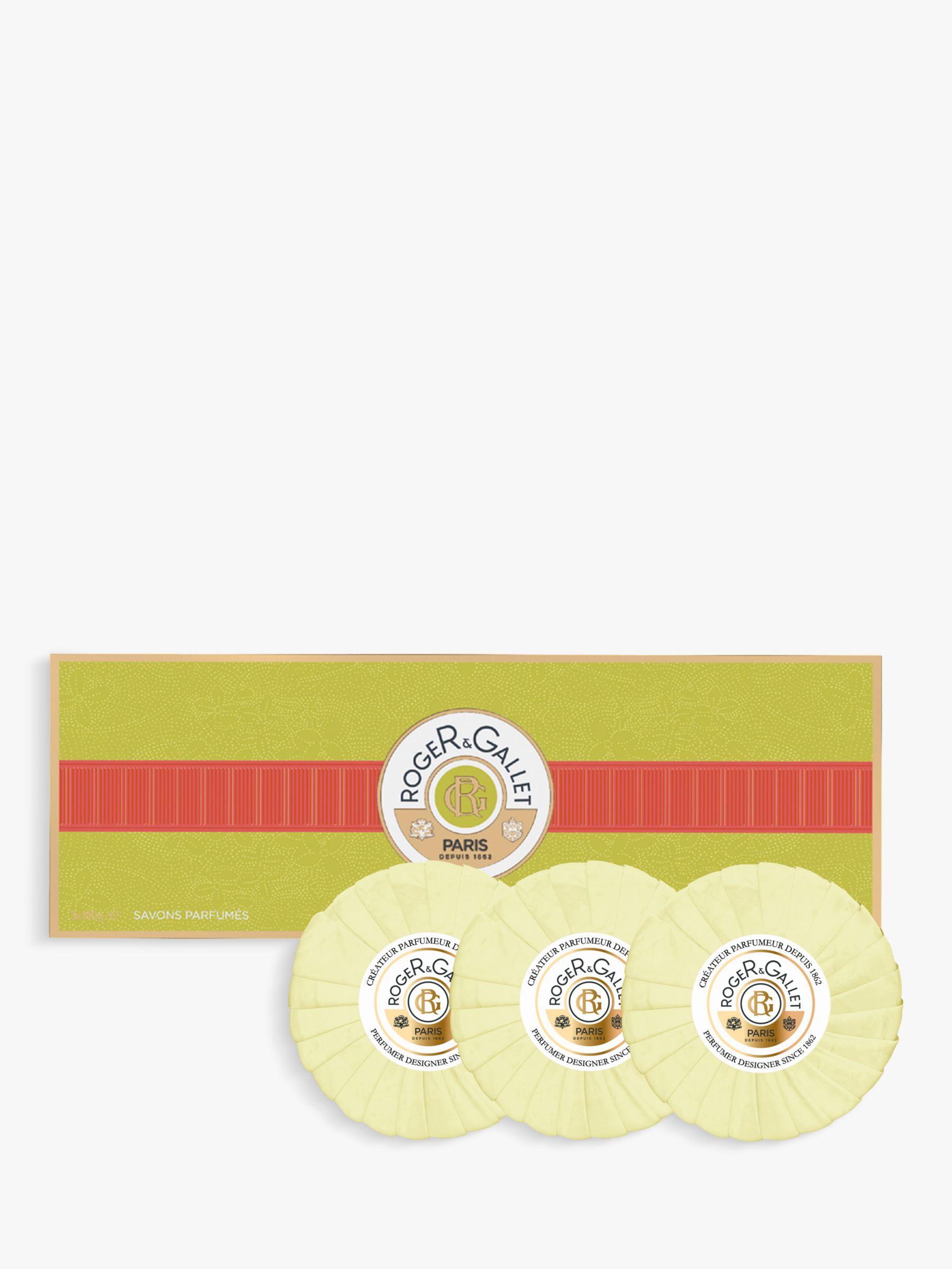 Roger & Gallet Roger & Gallet Fleur D'Osmanthus Perfumed Soap Gift Set, 3 x 100g